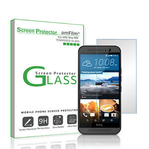 HTC-One-M9-amFilm-Premium-Real-Tempered-Glass-Screen-Protector-1-Pack