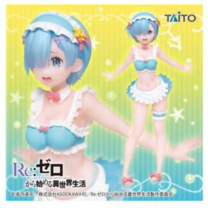 Figure TAITO Free shipping Re:Zero Rem Original cheerleader ver