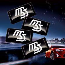 4 Small Mazdaspeed Car Badge/Sticker/Emblem/Adhesive/Logo Decal/18mm/2 3 5 6/RX8