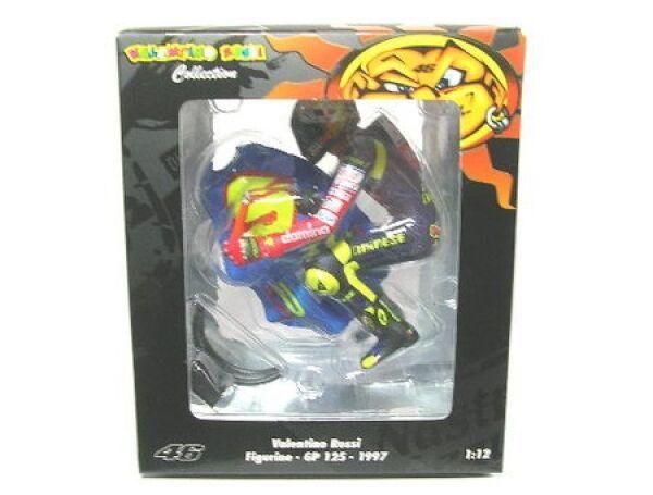 Valentino rossi-figurine riding-gp 125, 1997