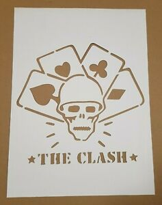 The-Clash-cardboard-Stencil-straight-to-hell-should-I-stay-or-should-I-go