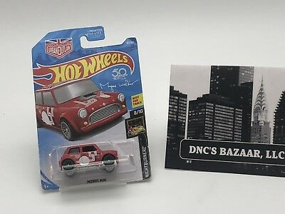 MORRIS MINI #65 USA✰blue;MAGNUS URBAN OUTLAW✰✰NIGHTBURNERZ✰2018 Hot Wheels A//B