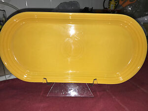 Fiesta-BREAD-TRAY-12-034-x-6-034-Never-used-First-quality-MARIGOLD