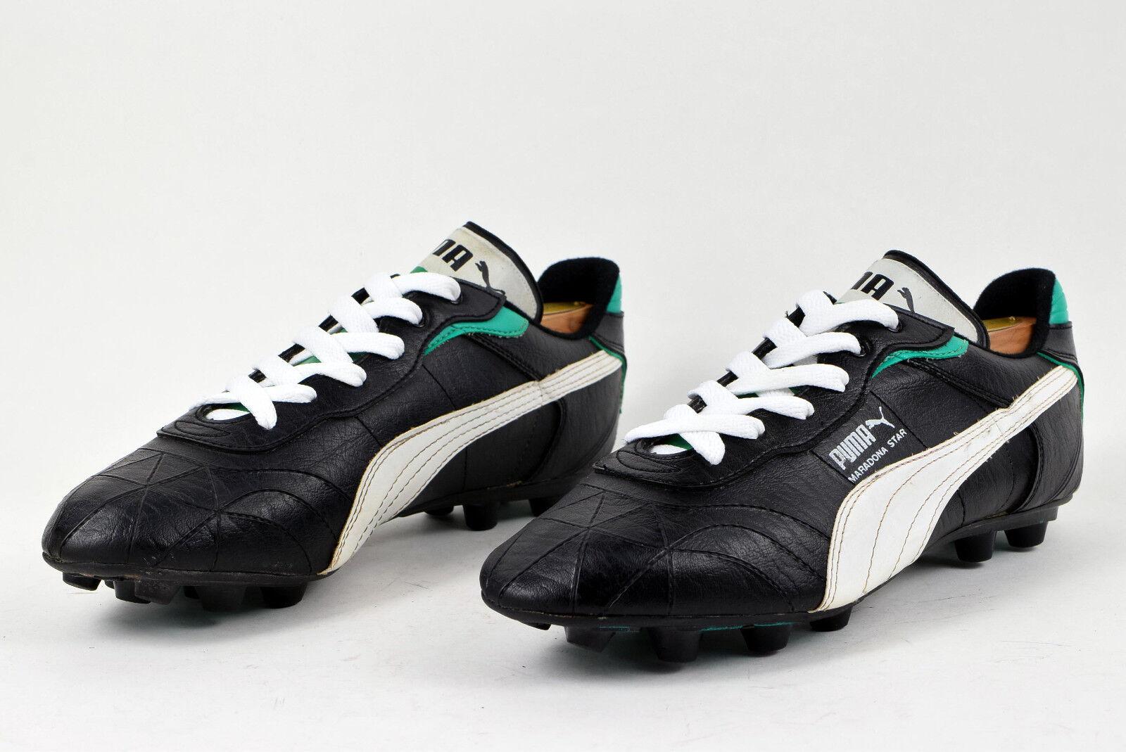 Puma Maradona Star Vintage Football Stiefel Größe 9.5 Soccer Schuhes