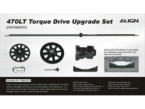 Align T-Rex 470LT Torque drive Upgrade Set