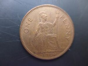1964-Queen-Elizabeth-Second-Penny-Uncirculated
