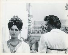 SIDNEY POITIER ROSANNA  SCHIAFFINO THE LONG SHIPS 1964 VINTAGE PHOTO ORIGINAL #7