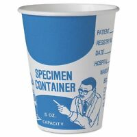 Solo Cup Company Paper Specimen Cups, 8 Oz, Blue/white, 20/carton - Sccsc378 on sale