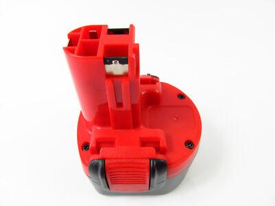 2x Batterie pour Bosch 9,6 V 2000 mAh Ni-MH remplace 2 607 335 540 2 607 335 529