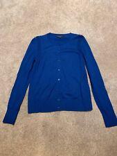 Banana Republic Cardigan Navy Blue Cashmere Blend NWT $54 PXXS,XS,S