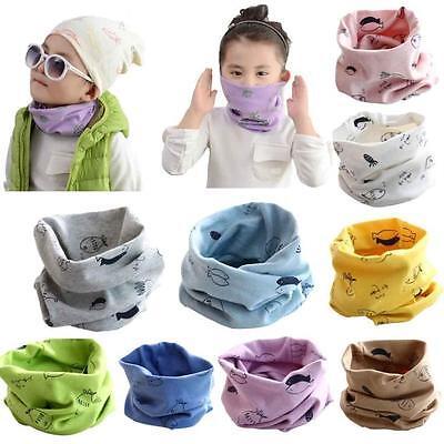 Autumn Winter Baby Scarf Cotton Boys Girls Neckerchief Head Neck Kids Scarves S