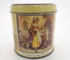 Vintage Old Fashioned Humbugs Sweet Tin