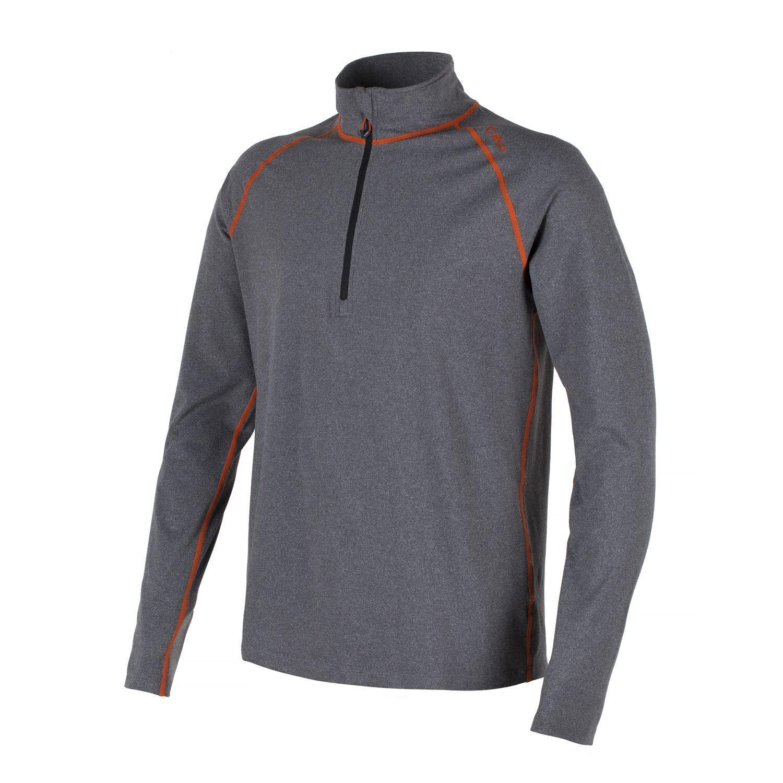 CMP CMP CMP Felpa stretchshirt funzione parte superiore grigio collo Softech 114671
