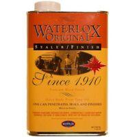 1 Unit Of Waterlox Original Sealer/finish 1 Quart (tb 5284), New, Free Shipping on sale