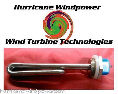 24 Volt 150 Watt DC Low Voltage Submersible Water Heater Element for Solar Panel
