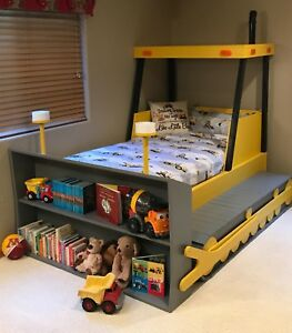Bulldozer Bed Plans Build It Yourself Ebay