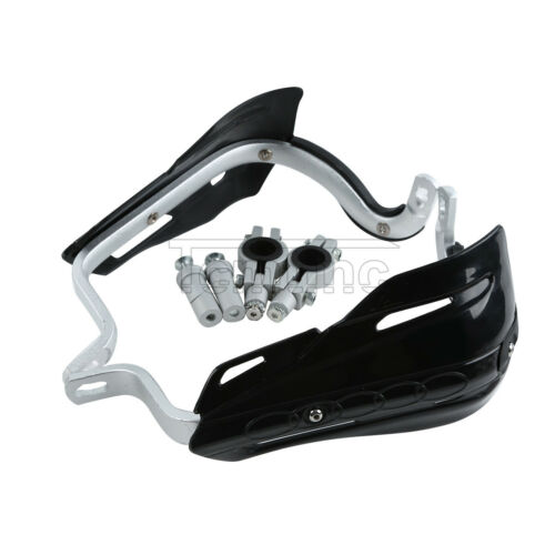 """Motorcycle Black 7//8/"""" 22mm Brush Hand Guards Handguard For Honda Yamaha Suzuki"""
