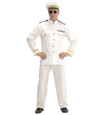 Ufficiale di marina Costume M 50 Capitano Navy Uniform MARINAIO CAPITANO COSTUME UOMO