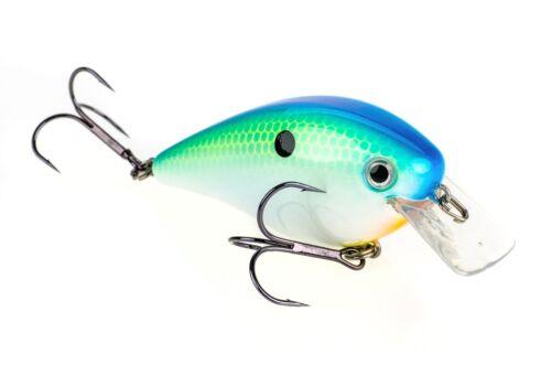 """Silent Crankbaits Bass Fishing Lure 6.35 Cm Strike King Kvd Square Bill 2.5/"""""""