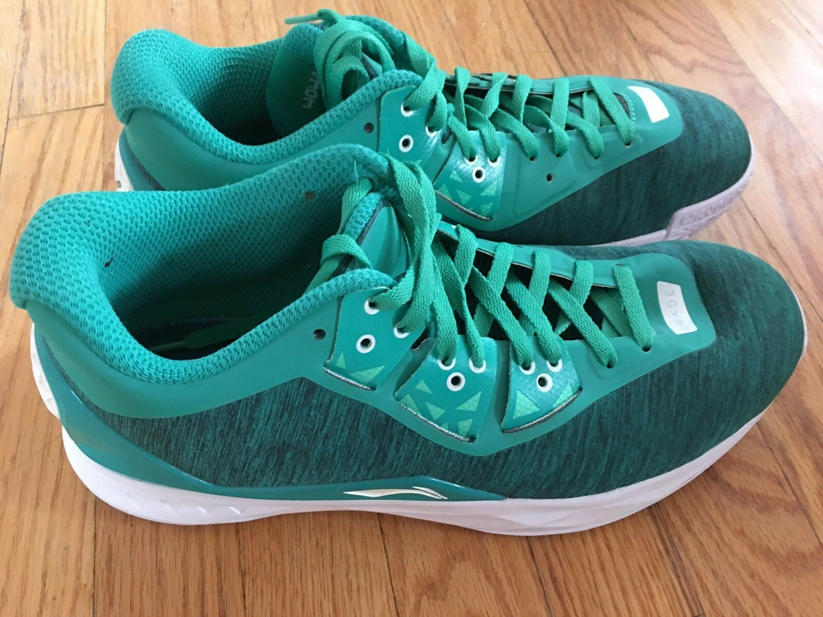 Li-Ning Way of Wade 4 Miami taille 10.5 porté 1x Excellent