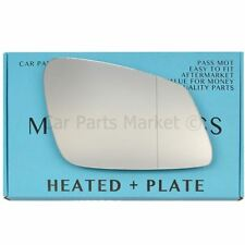 For BMW 3 series 1982-1994 right hand side blue wing mirror glass