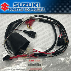 Details about 1987 - 1999 SUZUKI LT80 LT 80 QUADSPORT OEM WIRE ELECTRICAL  HARNESS 36610-40B10