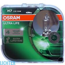 H7 OSRAM Ultra Life - längere Lebensdauer - Scheinwerfer Lampe DUO-Pack NEU