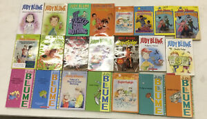 ❤️ JUDY BLUME COMPLETE FUDGE SERIES 1-5 CHILDRENS CHAPTER BOOKS MIXED COVERS