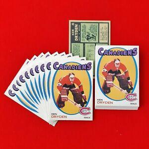 Ken-Dryden-1971-72-O-Pee-Chee-Rookie-Reprint-Montreal-Canadiens-45