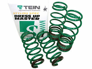 Tein-SKL90-AUB00-S-Tech-Lowering-Springs-for-06-13-Lexus-IS350-RWD-1-6-034-F-1-2-034-R
