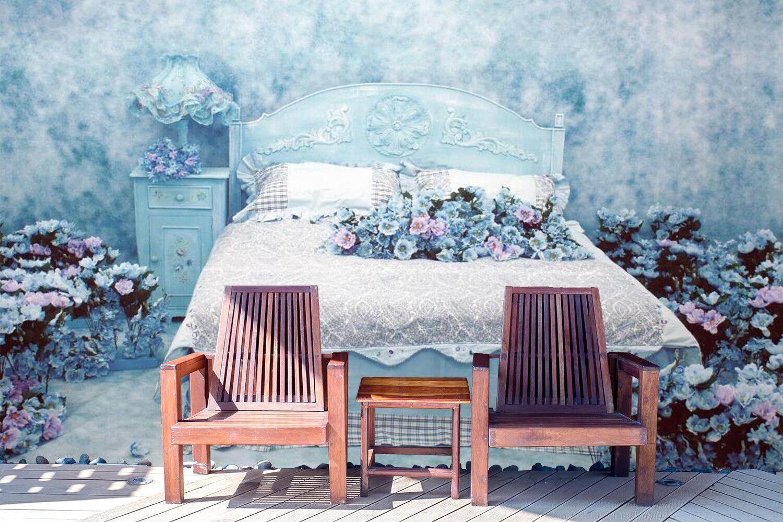 3D Flowers Bed 4 Wallpaper Murals Wall Print Wallpaper Mural AJ WALL AU Lemon