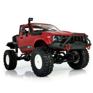 WPL C14 1:16 4x4 Radio Control Camion 2.4 G 2CH Off-Road Semi-TRUCK ELECTRIC RACING voiture bricolage