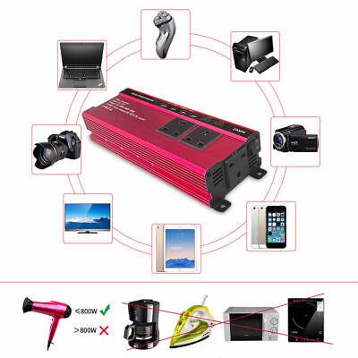 1000w-2000w Spannungswandler Stromwandler Solar Inverter Wechselrichter