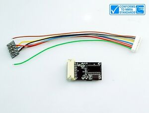 ANE-MODEL-motor-control-LC201-HO-scale-DCC-decoder-NMRA-standard-8Pin-plug