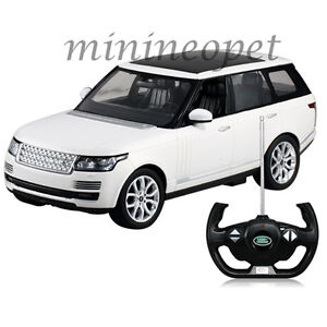 rastar r c radio remote control car land rover range rover sport suv 1 14 white ebay. Black Bedroom Furniture Sets. Home Design Ideas