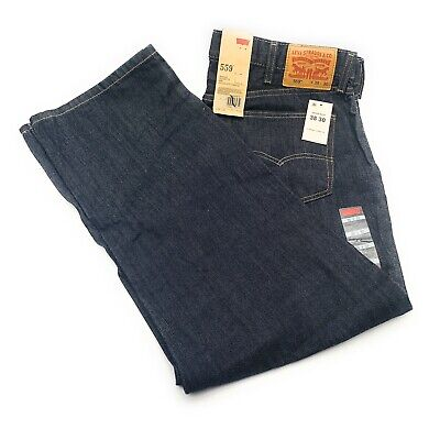 Men Levi/'s 559 Denim Straight Leg Zipper Fly Jeans Multi-Colors//Size