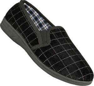 Mens Bedroom Slipper Indoors Comfort Classic Comfort Slip