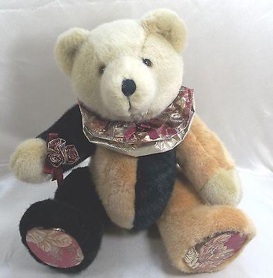 "18"" Plush Teddy Bear Jointed Stuff Animal - Brown & Black - Unbranded"