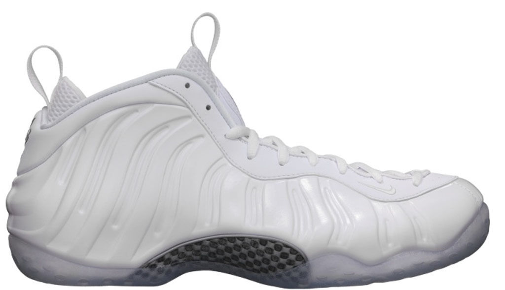 2018 Nike Air Foamposite One Whiteout Size 13. 314996-100 Jordan Penny