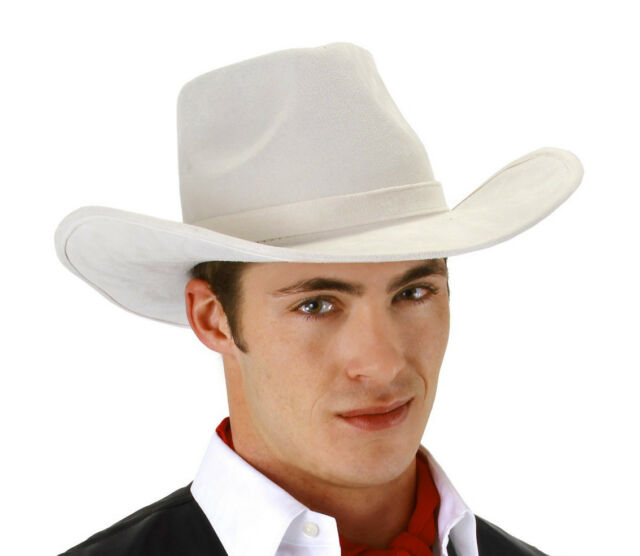 Elope Lone Ranger style The Western Hero White Top Quality HAT