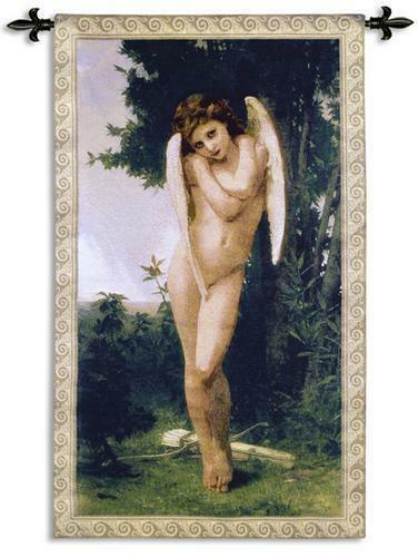 Cupidon II Art Wall Tapestry Bougeureau'S Painting