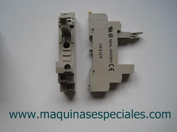 Sockel Grund- Relais G2R G2RS 1 Polo Omron Socket/Buchse Ref. P2RF-05-E