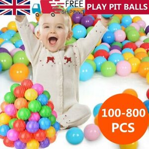 50-800X Ocean Pit Balls Baby Kid Ball Toy Swim Play Pool Colourful Secure Soft