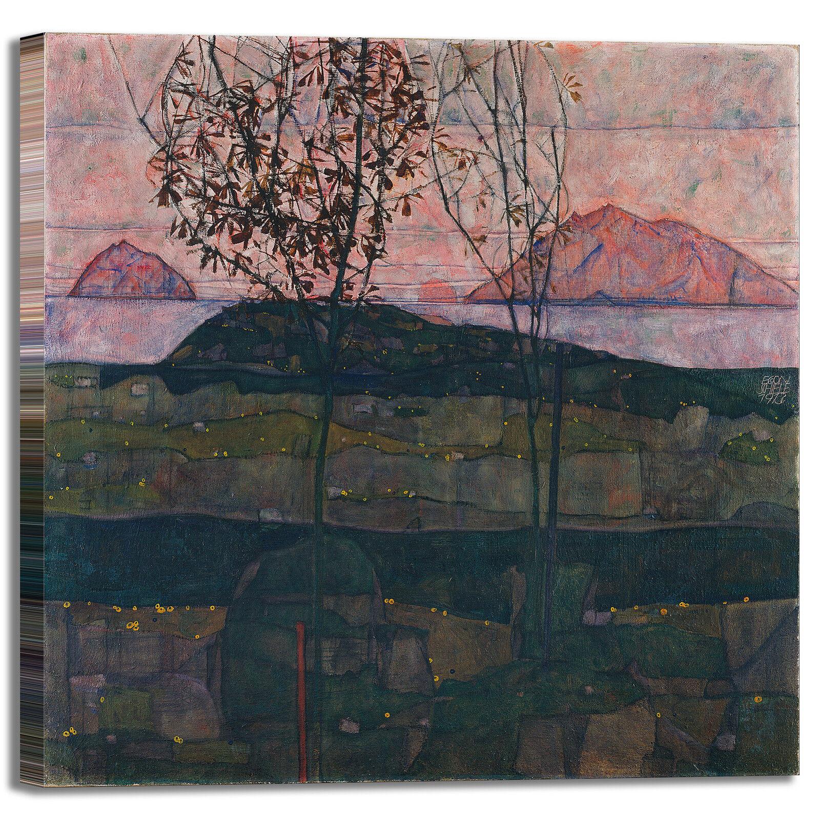 Schiele tramonto design stampa quadro stampa design tela dipinto telaio arRouge o casa 1f267a