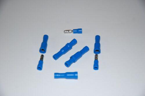 Electrical Bullet Terminal Blue Insulated Bullet Crimp Connectors