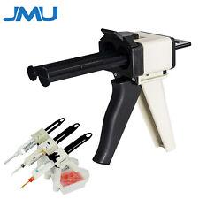 Jmu Dental Impression Mixing Dispenser Gun Universal 50ml 1121 Ratio Amp Holder