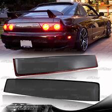 For 89-94 Nissan 240SX HatchBack Black Tint Transparent ABS Plastic Roof Spoiler