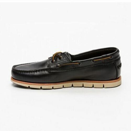Uk Bateau Chaussures 44 Neufs 5 44 10 Noir 130 Cuir Timberland Neuf 6IUw4n5qI