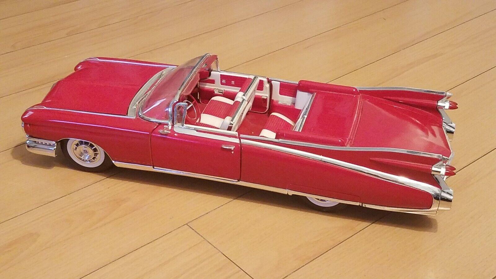 1959 Cadillac Eldorado Diecast Heavy 19x6 1 4x4in Size Red Classic