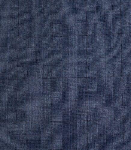 Alberto Cardinali Men/'s Cool Blue Glen Plaid 2 Button Slim Fit Suit NEW